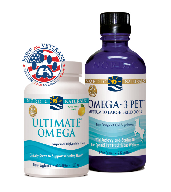 Omega 3 pet ultimate omega review giveaway gotta chop for Nordic naturals fish oil for dogs